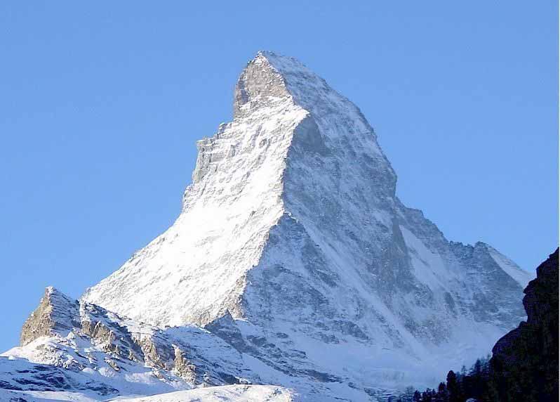 berg in zwitserland